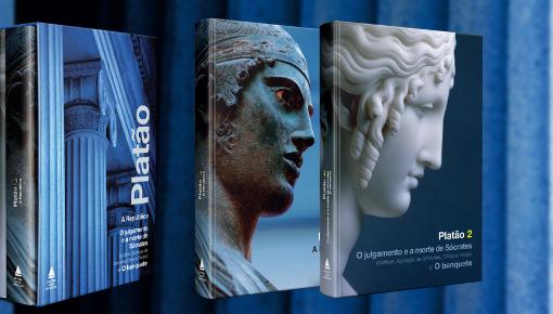 bOX com grandes obras de Platão apresenta em um mesmo volume, pela primeira vez no Brasil, O julgamento e a morte de Sócrates