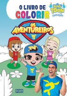 O livro de colorir Os Aventureiros