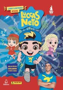Livro Ilustrado oficial Luccas Neto