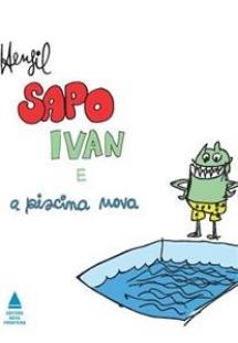 Sapo Ivan e a piscina nova