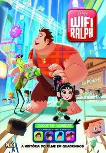 WiFi Ralph - A história do filme em quadrinhos
